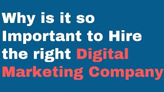 Why is it so Important to Hire the right Digital Marketing Company in Albuquerque?