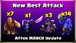 New Best Attack: 7 Giant+1 Pekka+3 Witch+14 Bowler | TH11 War Strategy #211 | COC 2018 |
