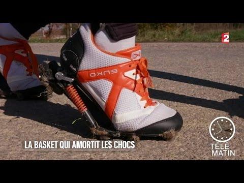 Nouveau - Enko, la basket qui amortit les chocs - 2016/02/09