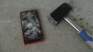 Nokia Lumia 920 Review - Hammer Drop Test