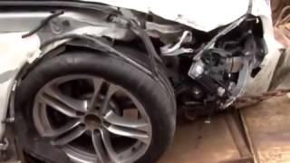 BMW car Accident Trivandrum, Kerala