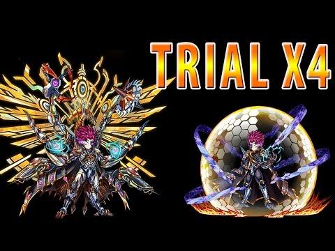 Brave Frontier Trial X4: Gazia
