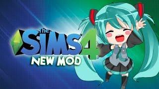 Hatsune Miku Toy Mod | Juguete Hatsune Miku | Los sims 4 REVIEW EN ESPAÑOL