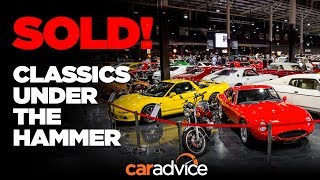 SOLD! Classics auctioned at the Gosford Classic Car Museum