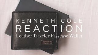REVIEW: Kenneth Cole REACTION Leather Traveler Passcase Wallet