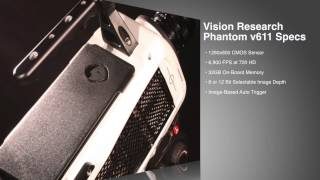 Used Phantom High-Speed HD Camera For Sale Or Rent - Slow Motion