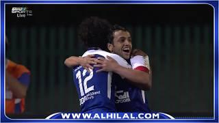 هدف الهلال الوحيد على القادسية عن طريق محمد الشلهوب - الدوري السعودي للمحترفين ج18