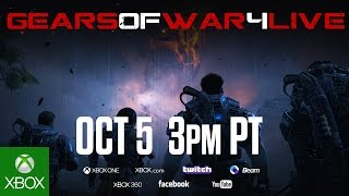 Gears of War 4 Live Announcement