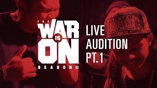 TWIO2 : LIVE AUDITION PT.1 | RAP IS NOW