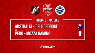 Australia vs Peru   DeludedGoat vs Mozza Gaming   Football Manager 2018   #FMWorldCup