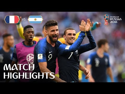 Xxx Mp4 France V Argentina 2018 FIFA World Cup Russia™ Match 50 3gp Sex