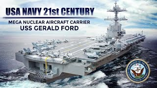 United States Navy's $13B Most Advanced Aircraft Carrier USSR Gerald Ford .
