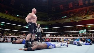 WWE Network: Kofi Kingston vs. Brock Lesnar: Brock Lesnar: The Beast in the East, July 4, 2015