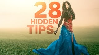 PHOTOSHOP: 28 Powerful Hidden Tips, Tricks, & Features!
