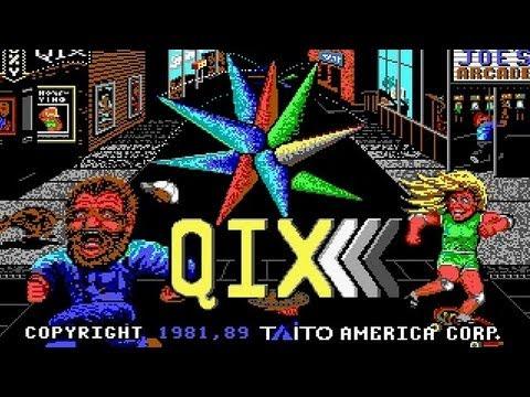 Qix - Taito 1981 MS-DOS Game review ITA Magicolo 2013