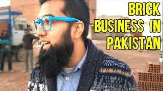 Brick Business In Pakistan Without Patta | Tunisian Brick Business Tour | Azad Chaiwala Show