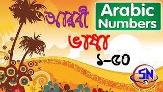 Arabic to Bangla numbers, Arabic numbers in bangla tutorial