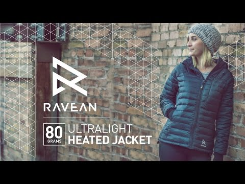 80g Ultra-Light Heated Down Jacket by RAVEAN