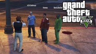 GTA 5 Online Business DLC Story Time with Lui, Roadside Assistance and My Mask Shop