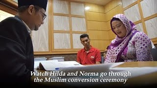 Converting To Islam: The Ceremony | Ramadan In Asia | CNA Insider