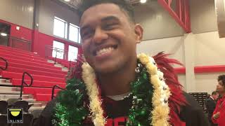 Alabama commit Taulia Tagovailoa on his brother Tua