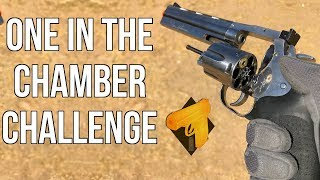 One in the Chamber Challenge (ASG Dan Wesson 715 Revolver)