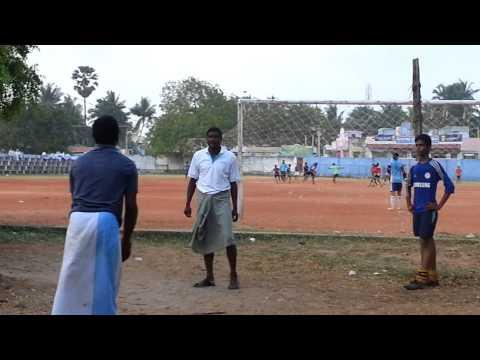 Pele playing football at kayalpatnam
