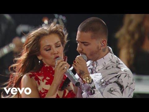 Thalía Desde Esa Noche Premio Lo Nuestro 2016 ft. Maluma