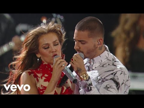 Xxx Mp4 Thalía Desde Esa Noche Premio Lo Nuestro 2016 Ft Maluma 3gp Sex