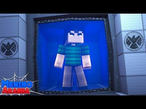 Minecraft: MENINO ARANHA - O HOMEM AREIA FOI PRESO!!! #157