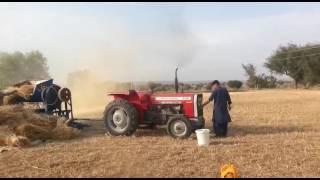 Injra tractor field working Jand district Attock pakistani massey tractor massey ferguson tractors