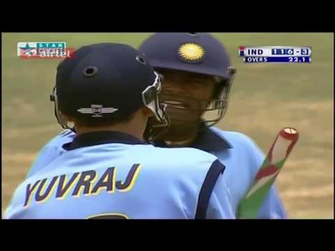 Rare India vs Australia ICC Knockout 2000 HQ Highlights Thank you Yuvraj Singh is King