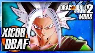 Dragon Ball Xenoverse 2 PC: Xicor SSJ-SSJ5 Transformations DLC (Dragon Ball AF) Mod Gameplay