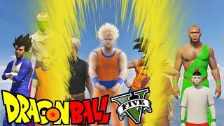 Dragon Ball Z intro recreated in GTA V