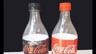 COCA COLA Bottle Oxygen Pump For Aquarium Without Electricity  HOMEMADE IDEAS
