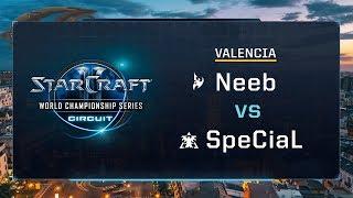 Neeb vs SpeCiaL PvT - Quarter-finals - WCS Valencia 2017 - StarCraft II