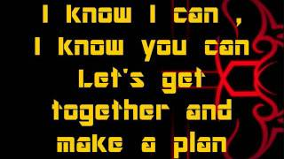 Apl. De. Ap - We Can Be Anything ( with lyrics on screen )