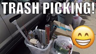 GARBAGE PICKING LIVE - Picking Treasures from the Trash!
