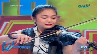Wowowin: Awit na 'Ikaw Na Nga', emosyonal na tinugtog ng isang violinist