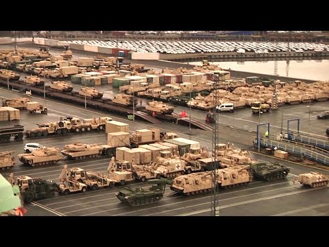 Largest Deployment of US Armaments Since Cold War Arrives in Germany