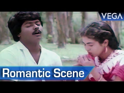 Murali Ramancing On A Cycle || Kalamellam Un Madiyil Tamil Movie || Romantic Scene