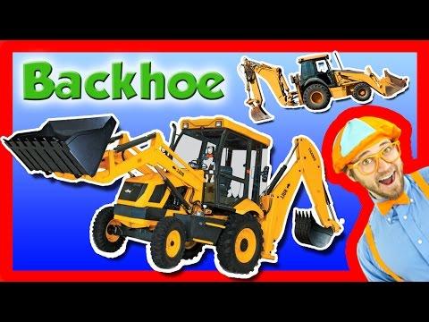 Backhoe Excavator for Kids Explore A Backhoe