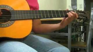 Unfaithful rihanna (guitar cover)