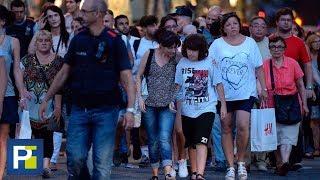 Así fue el recorrido de la furgoneta que atropelló y mató a al menos 13 personas en Barcelona
