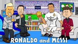Ronaldo and Messi on Fletch & Saverage Show! (Parody El Clasico 2015 preview November)