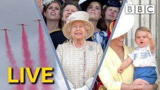 Trooping the Colour LIVE 2019 | The Queen