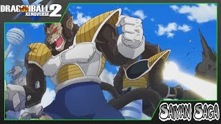 Dragon Ball Xenoverse 2 | Story Mode | Goku vs Great Ape Vegeta/Nappa | Walkthrough Part 3