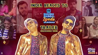 India Reacts to Shubh Mangal Zyada Saavdhan Trailer - Culmination Video   Movie In Cinemas Now