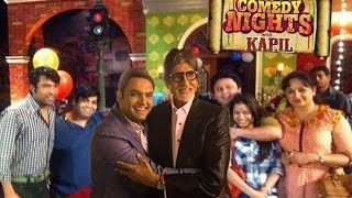 Comedy Nights With Kapil | BIRTHDAY CELEBRATIONS With AMITABH BACHCHAN 2nd April Full Episode HD