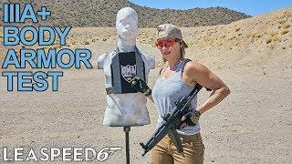 IIIA+ Body Armor Test w/ Full-Auto MP5 & Uzi